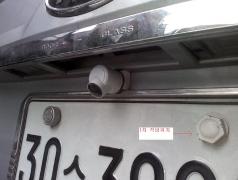 트렁크에 구멍내서 후방카메라 장착하기