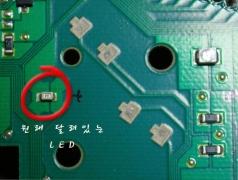 계기판 바늘 LED를 3528로 바꾸기