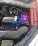 전압안전기 설치 했습니다.